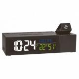 Часы проекционные TFA SHOW с климатом в помещении адаптер 167x66x48 мм