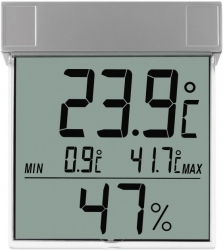 Термогигрометр цифровой оконный TFA 305020  Vision