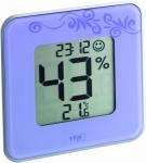 Термогигрометр цифровой TFA 30502111 Style фиолетовый