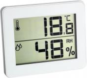 Термогигрометр цифровой TFA 30502702 белый