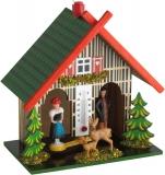 Метеостанция TFA Погодный домик с оленями 481501